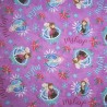 100% Cotton Fabric Springs Creative Disney Frozen Joyful Christmas Anna Elsa