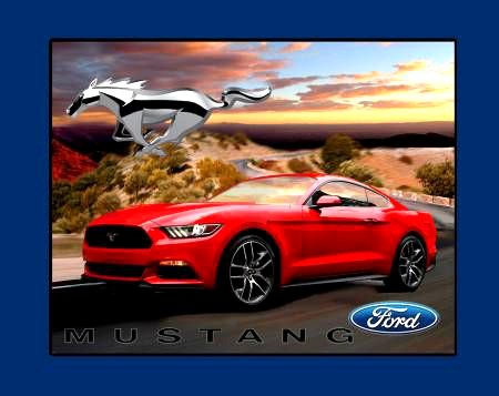 100% Cotton Fabric Ford...