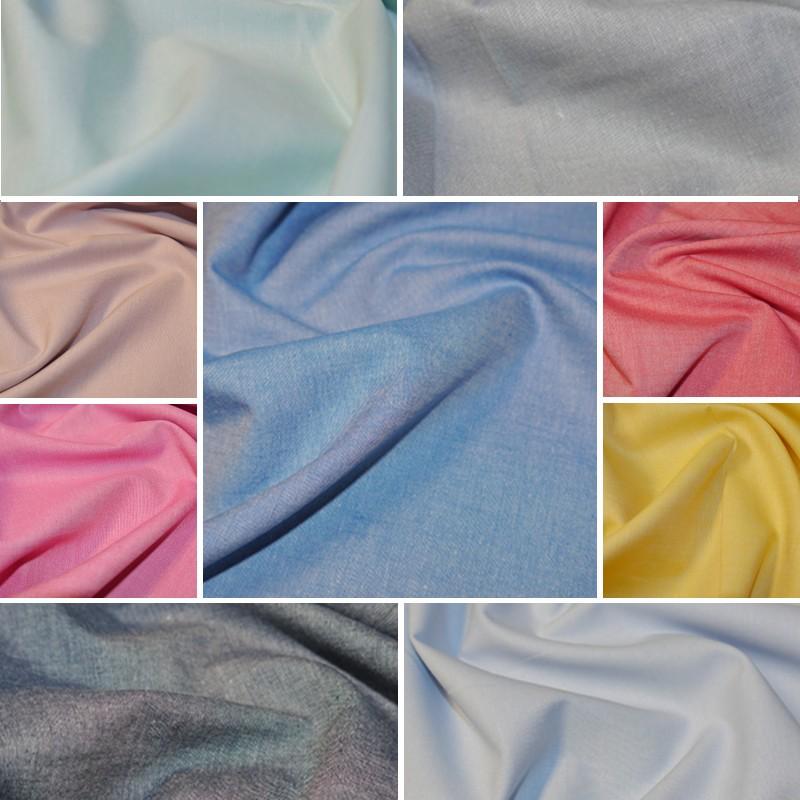 Chambray Fabric Yarn Dyed...