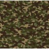 100% Cotton Fabric Timeless Treasures Multi Army Camouflage Camo Woodland