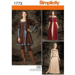 Misses' Fairytale Costume Simplicity Sewing Pattern 1773
