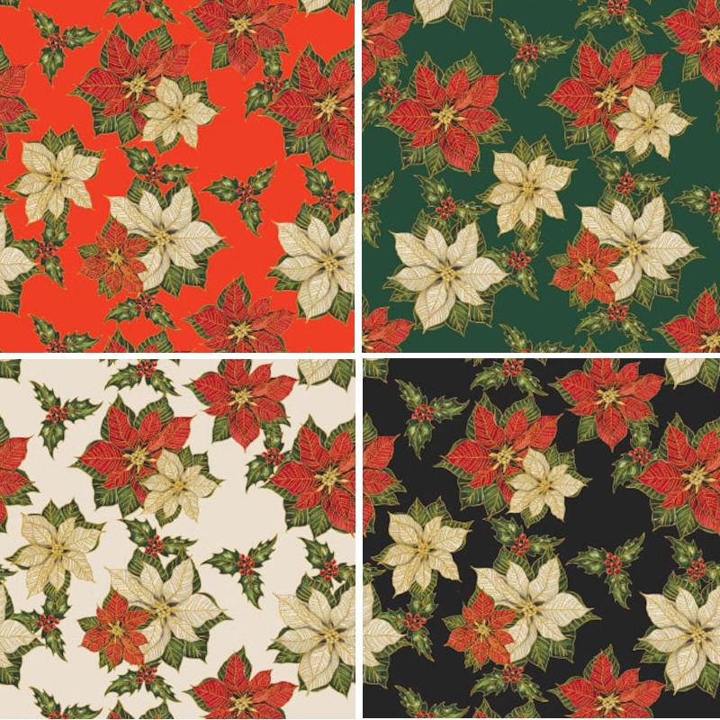 100% Cotton Fabric Rose &...