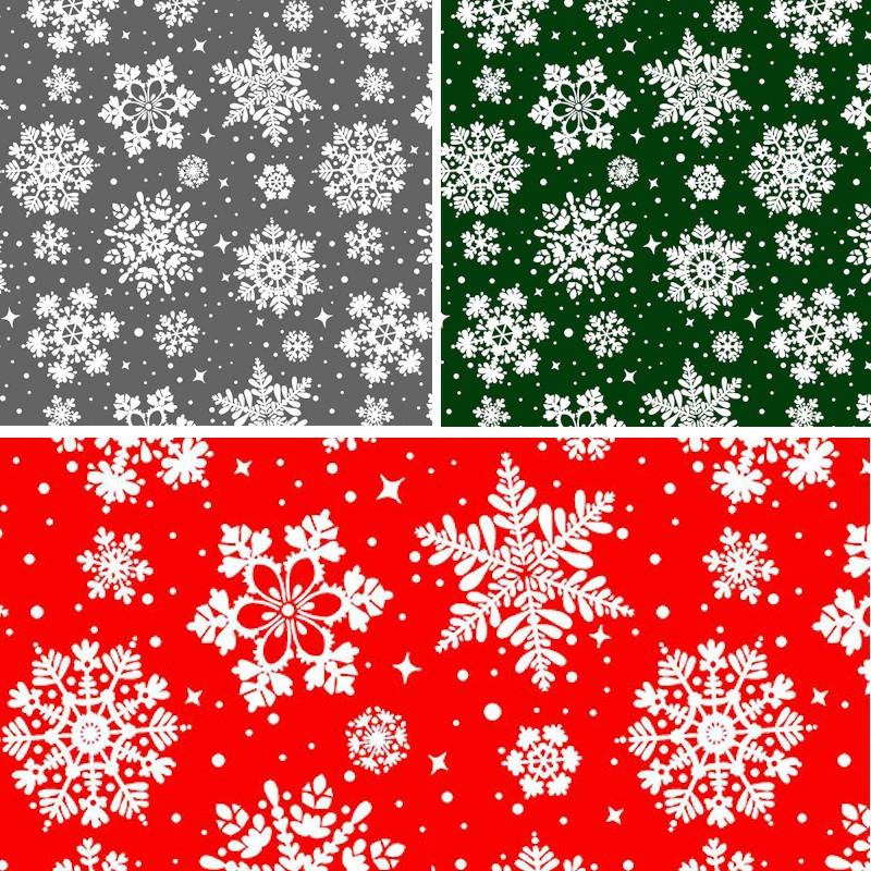 Polycotton Fabric Christmas...