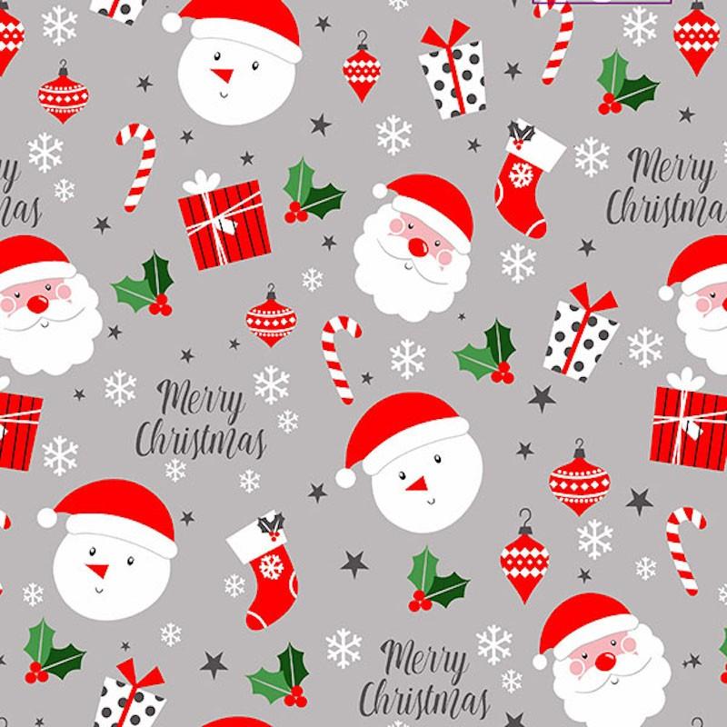 Polycotton Fabric Merry...