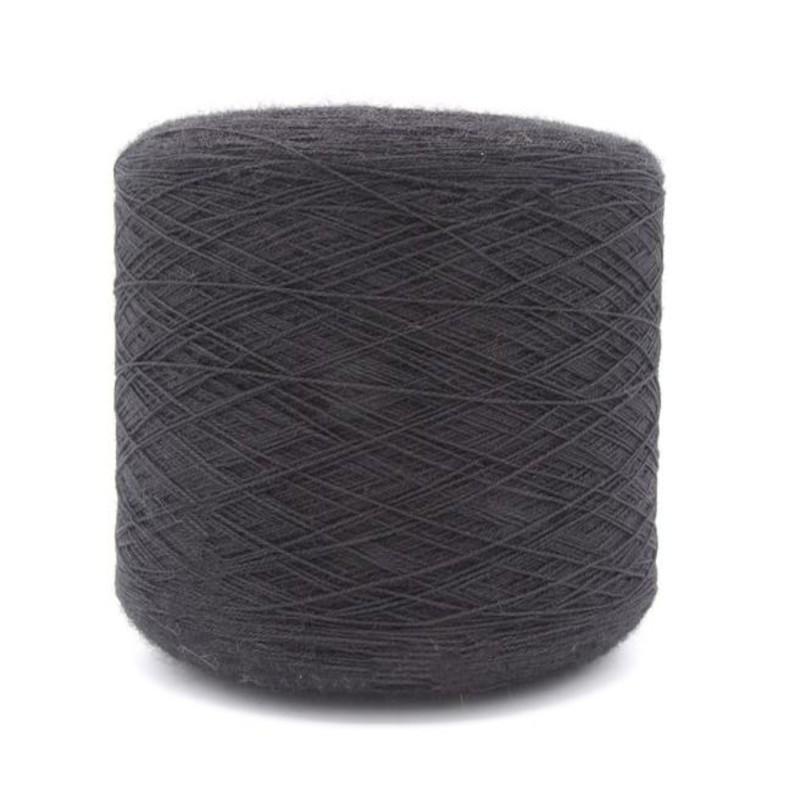 100% Wool Black Weaving...
