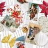 100% Cotton Fabric Digital Christmas Vintage Song Sheets Music Carols 150cm Wide