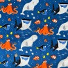 100% Cotton Fabric Springs Creative Disney Pixar Finding Nemo Dory & Friends