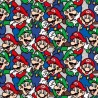 100% Cotton Fabric Springs Creative Super Mario Brothers Packed