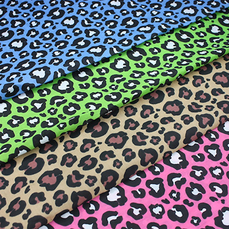 Polycotton Fabric Safari...