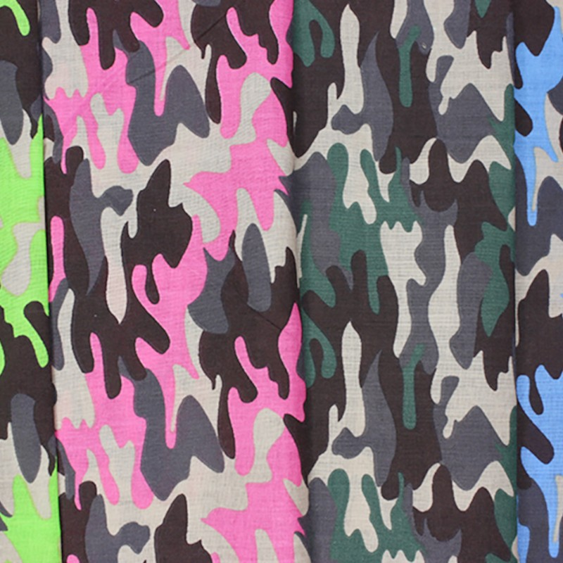 Polycotton Fabric Army...