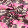 Polycotton Fabric Army Camouflage Funky Colours Military