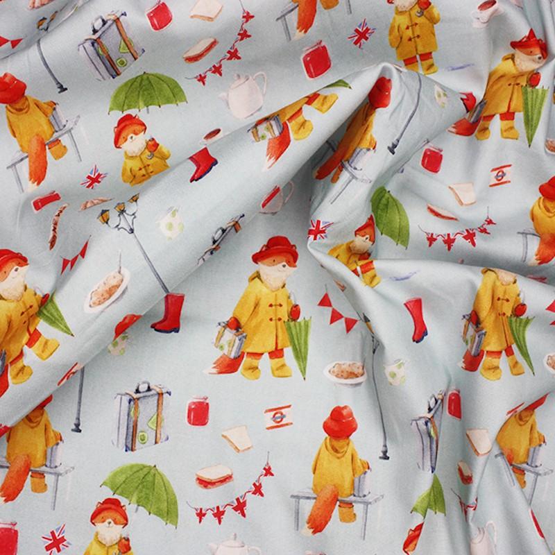 100% Cotton Fabric Little...