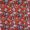 100% Cotton Fabric Digital Marvel Avengers Superheroes Hexagons 140cm Wide