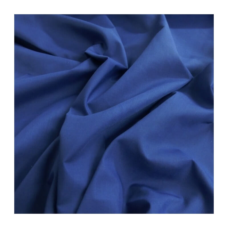 Plain Coloured Polycotton Dress Craft Fabric Navy