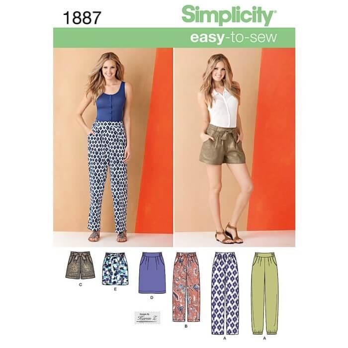 Simplicity Misses' Pants &...