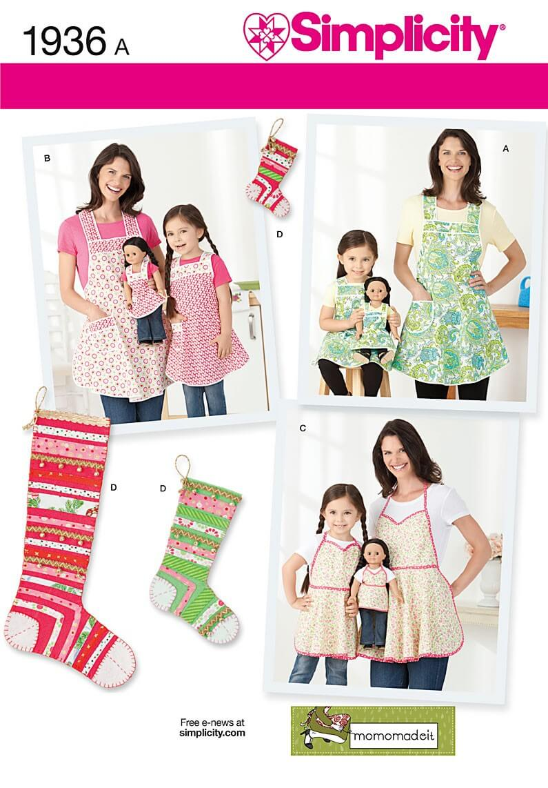 Child's & Misses' Aprons &...