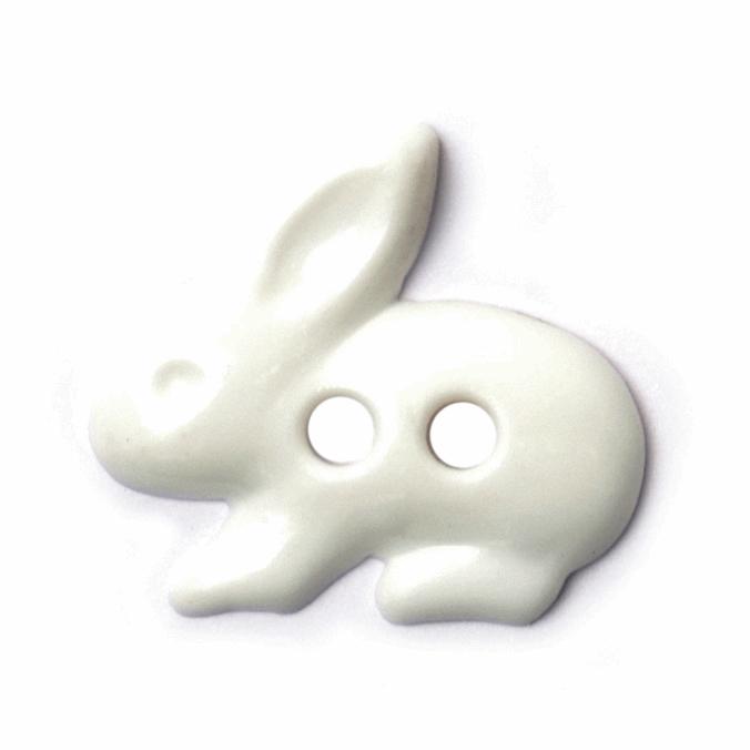 1 x 18mm Tiny White Hare...