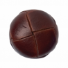 1 x 15mm Faux Leather Panel Football Look Buttons Coat
