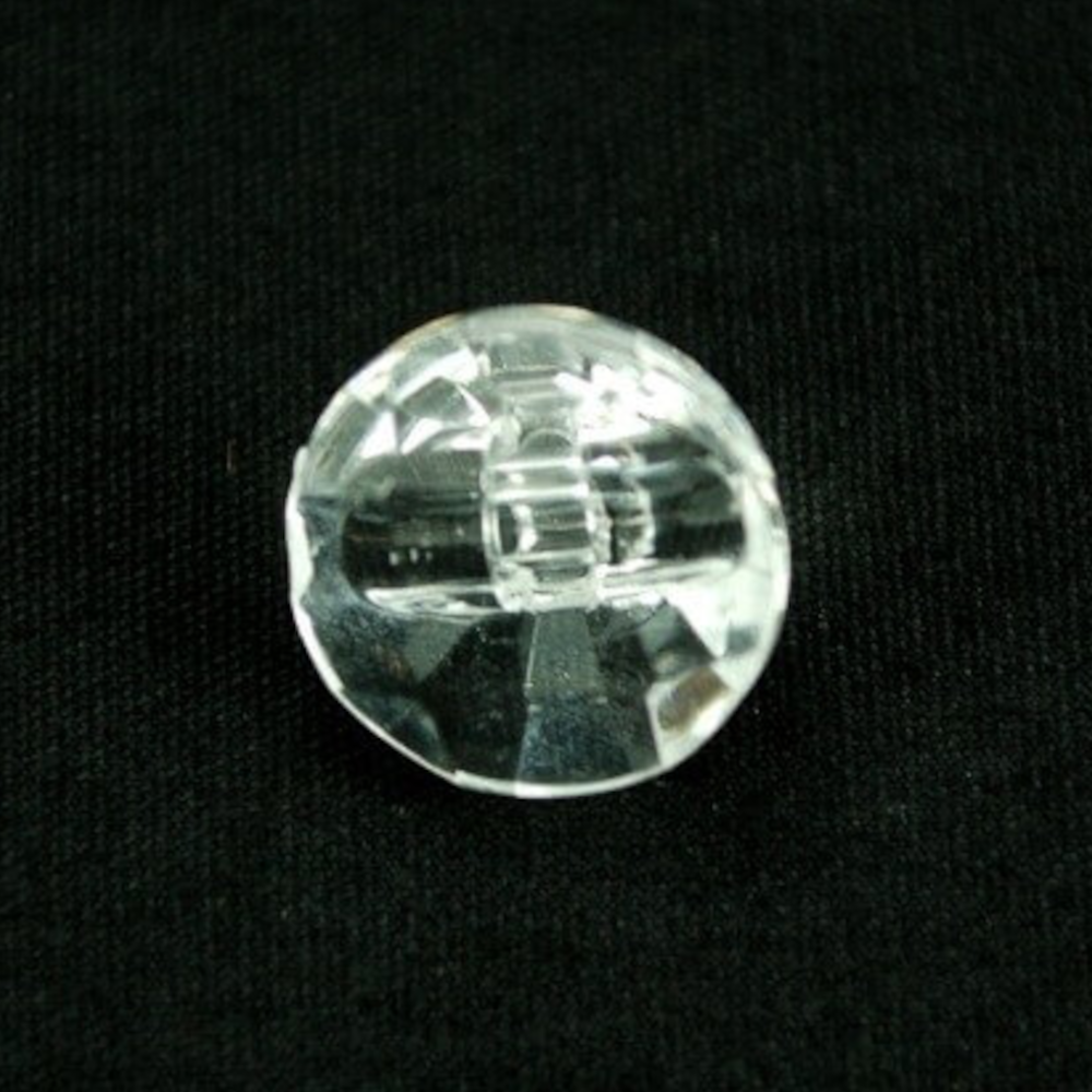 1 x 11mm Clear Diamond Look...