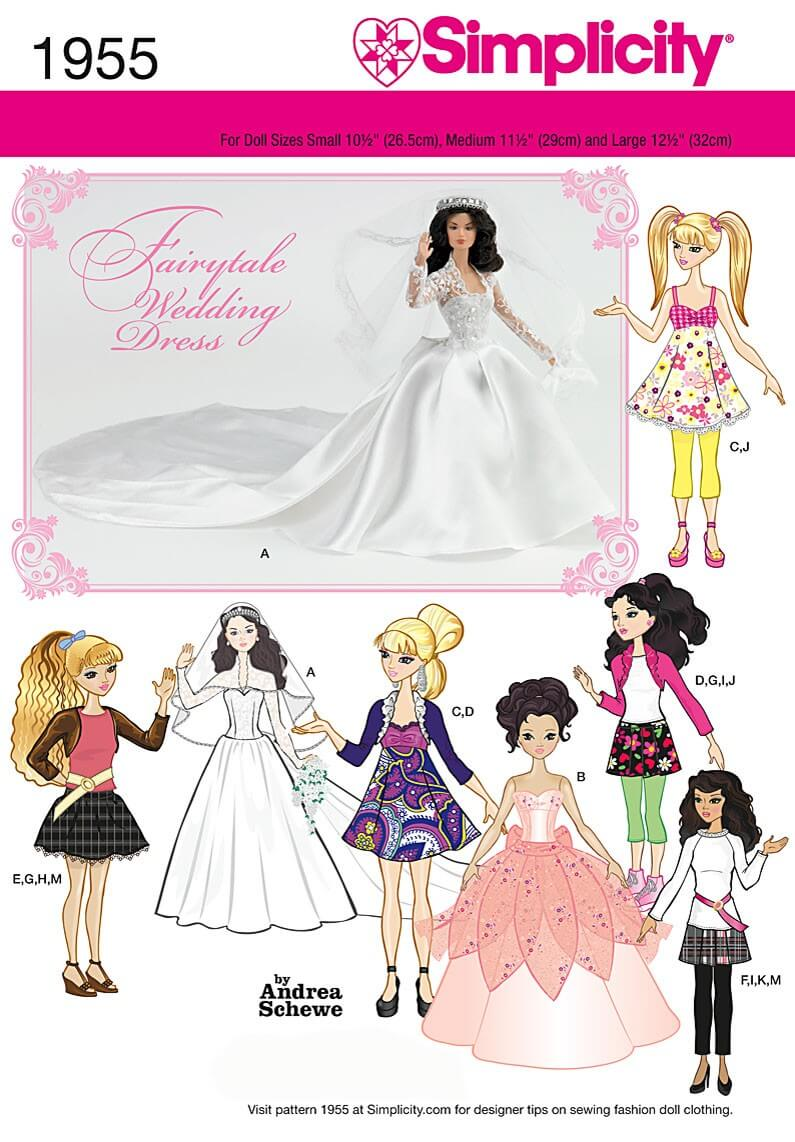 Simplicity Doll Clothes...