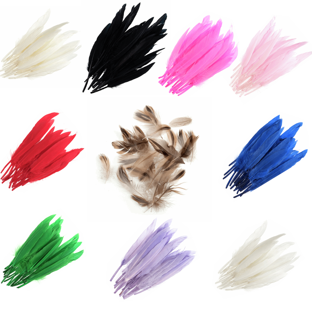 24 x Duck Feathers...