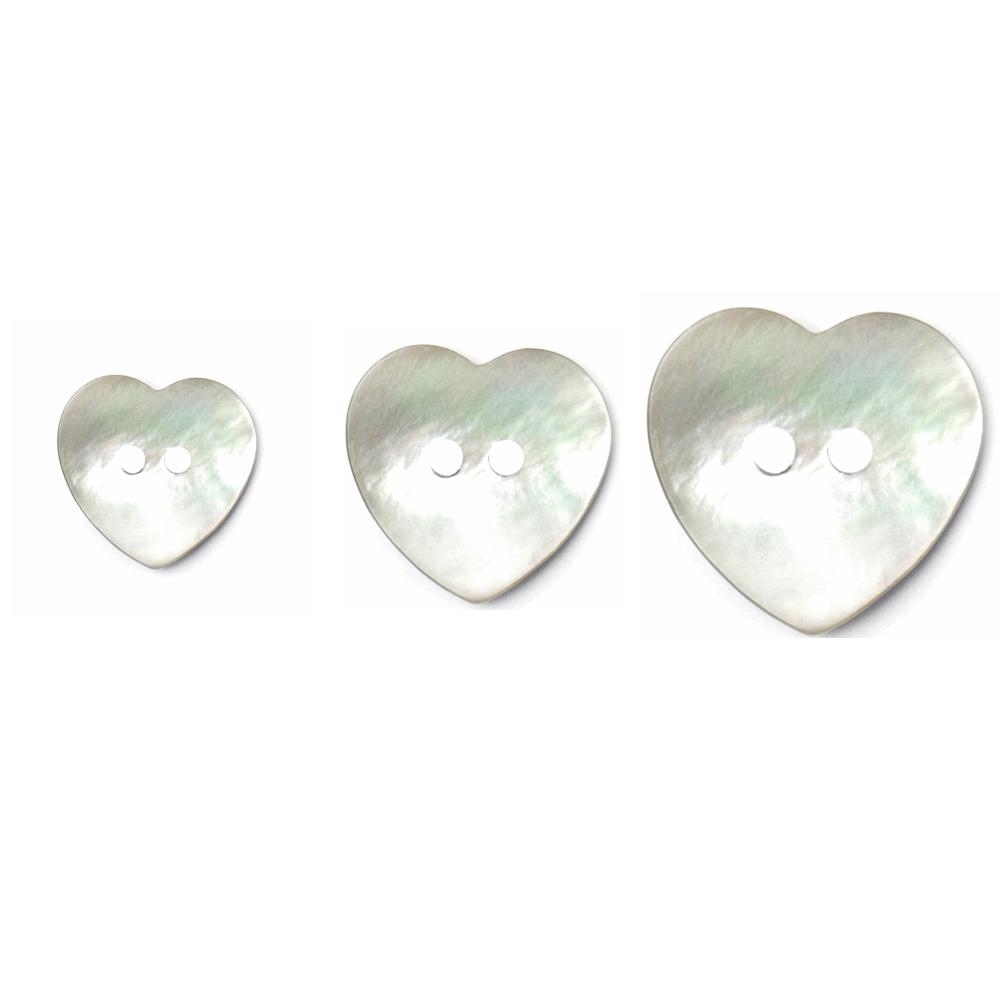 1 x Pearl Effect Heart...