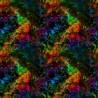 100% Cotton Digital Fabric Storm Rainbow Universe Crafty 140cm Wide