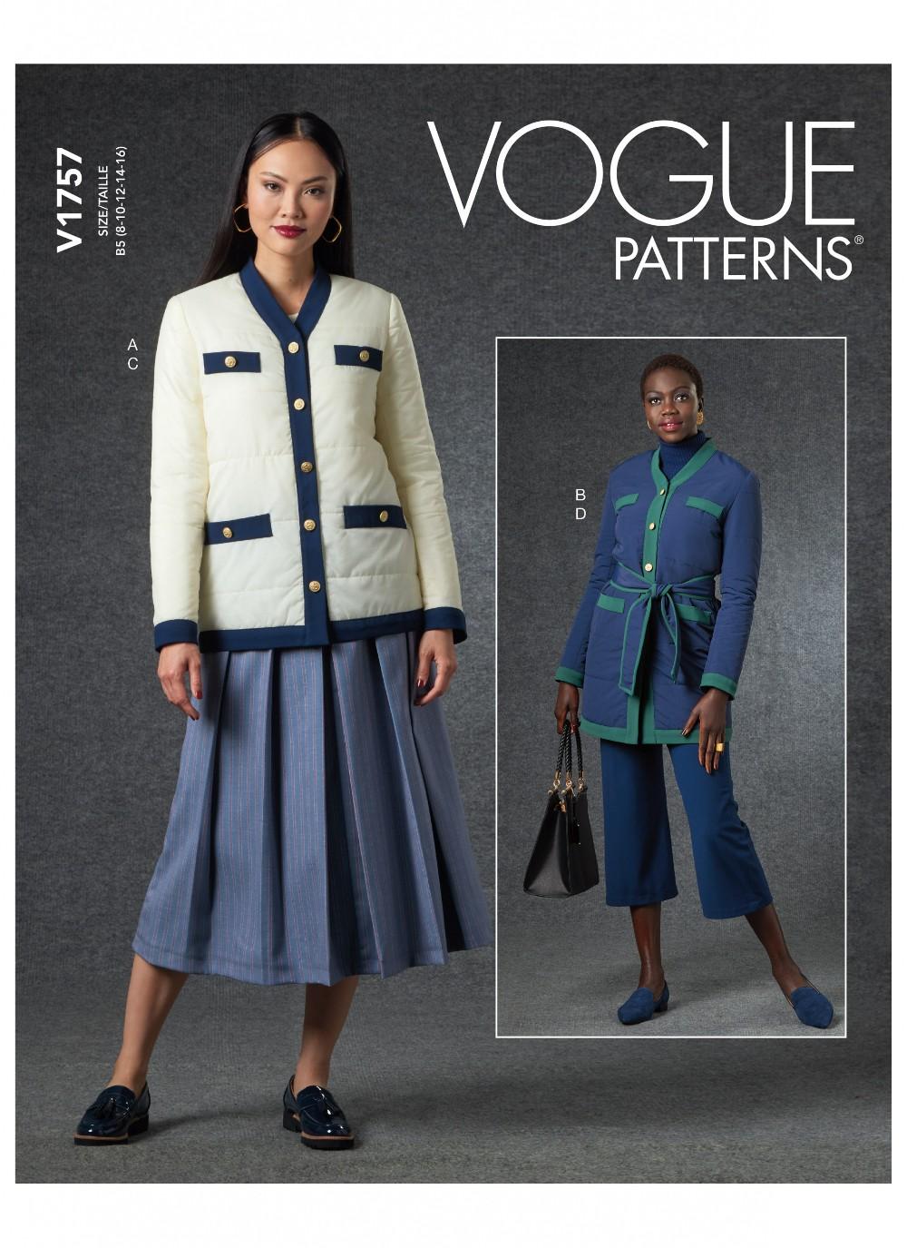 Vogue Sewing Pattern V1757...