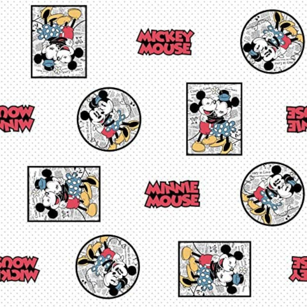 100% Cotton Fabric Disney©...