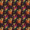 100% Cotton Digital Fabric Mosaic Cat Kitten Rainbow Pride Crafty 140cm Wide