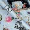 Cotton Jersey Digital Fabric Sewing Machine Thread Floral Crafty 150cm Wide