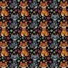 100% Cotton Digital Fabric Mosaic Fox Foxes Rainbow Pride Crafty 140cm Wide
