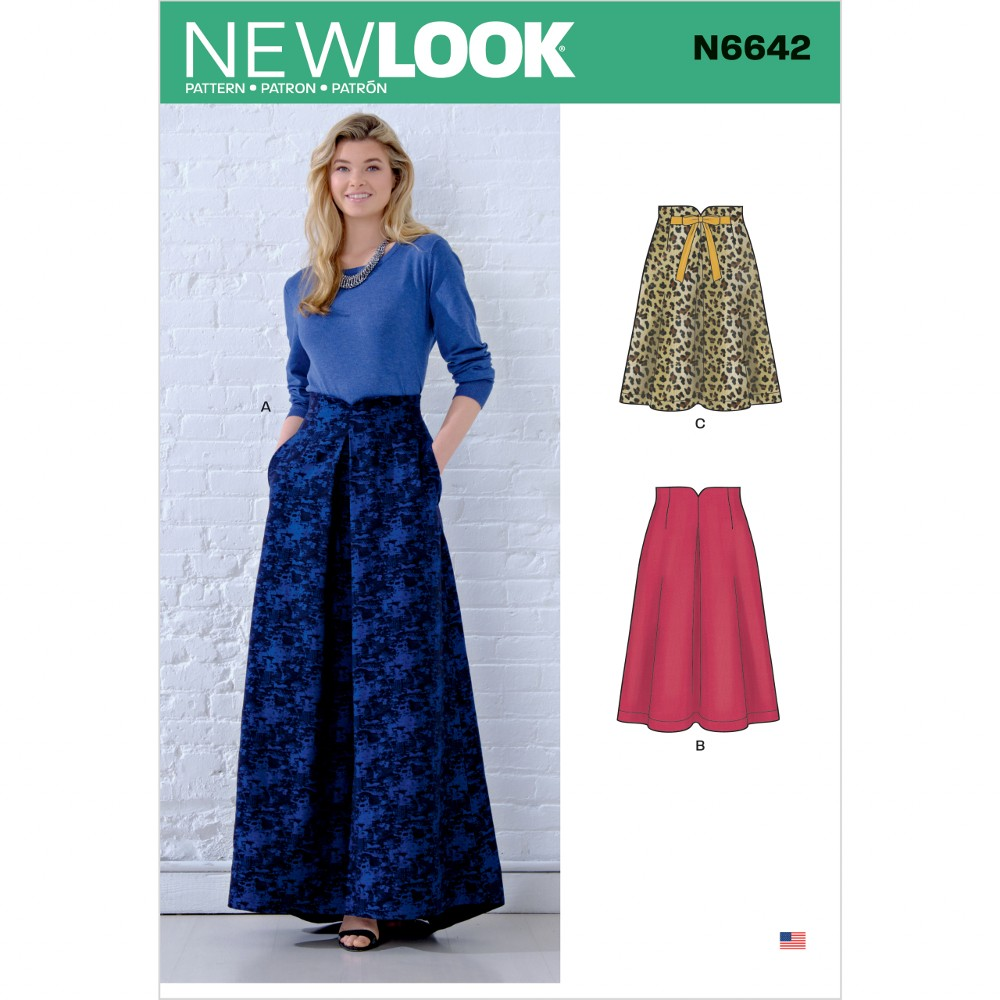 New Look Sewing Pattern...