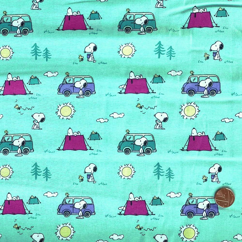 100% Cotton Fabric Snoopy...