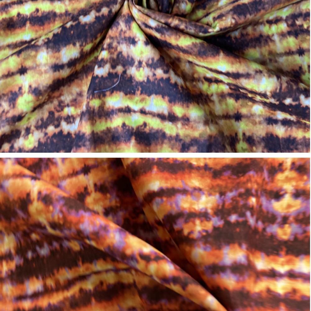 100% Cotton Fabric Tie Dye...