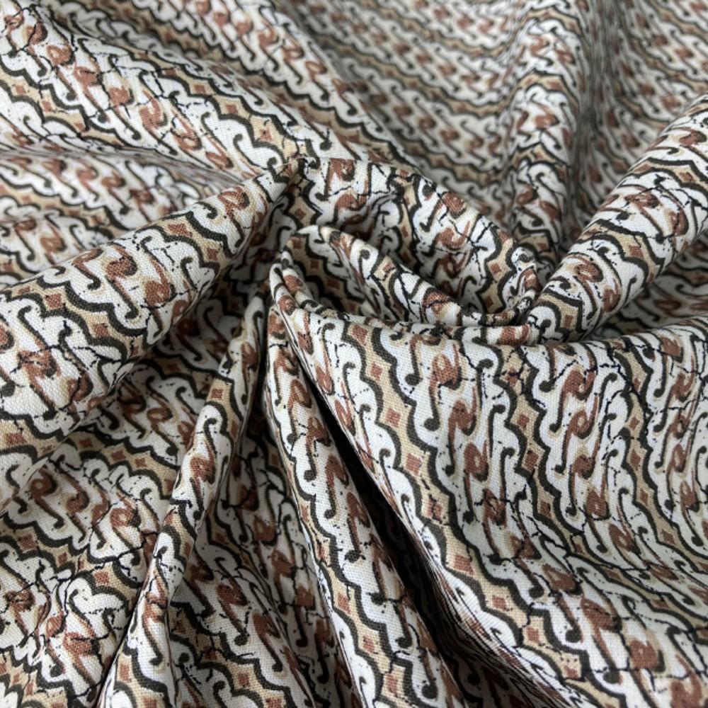 100% Cotton Fabric Javanese...