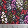 100% Cotton Poplin Fabric 60's Vintage Mini Flower Floral Elegant Lane