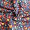 100% Cotton Poplin Fabric Scandinavian Flower Floral Garden Verwood Road