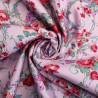 100% Cotton Poplin Fabric Regal Roses Floral Flower Rose Gemini Road