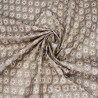 100% Cotton Poplin Fabric Retro Christmas Glitter Geometric Star 135cm Wide
