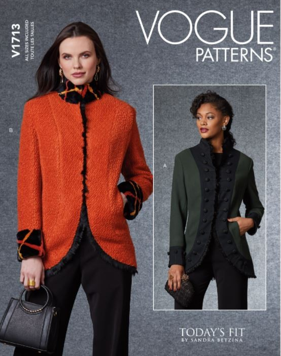 Vogue Sewing Pattern V1713...