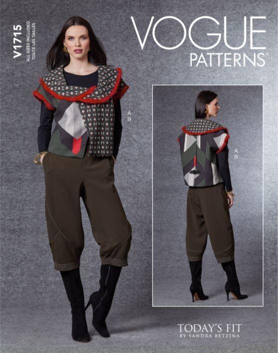 Vogue Sewing Pattern V1715...