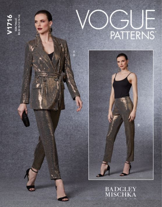 Vogue Sewing Pattern V1716...