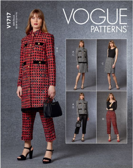Vogue Sewing Pattern V1717...