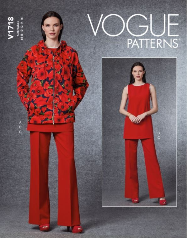 Vogue Sewing Pattern V1718...