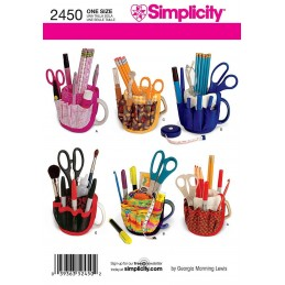 Simplicity Mug Stationary Holder Fabric Sewing Pattern 2450
