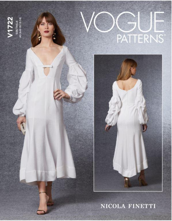 Vogue Sewing Pattern V1722...