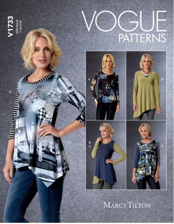 Vogue Sewing Pattern V1733...