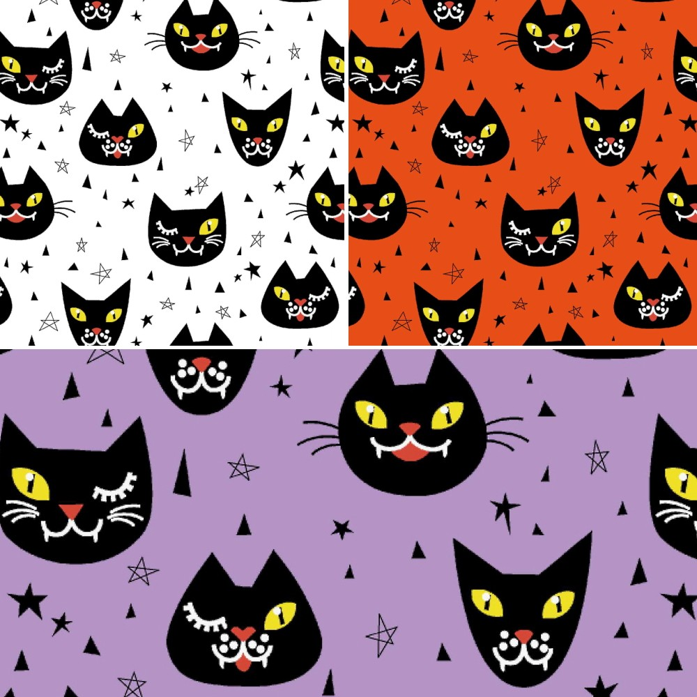 Polycotton Fabric Halloween...