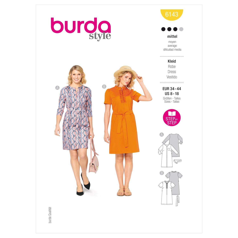 Burda Sewing Pattern 6143...